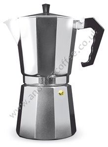 Grunwerg Moka Pot Stove-Top Coffee Maker 12 Cup