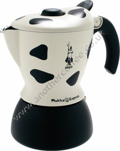 Bialetti Mukka Express Stove-Top Cappuccino Maker - Cow Print