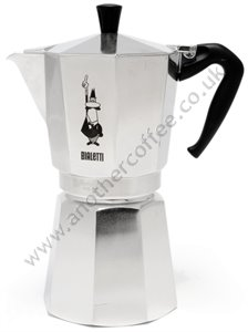 Bialetti Moka Express Stove-Top Coffee Maker 9 Cup