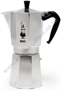 Bialetti Moka Express Stove-Top Coffee Maker 18 Cup