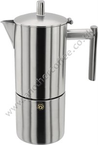 Stellar SM51 Stove-Top Coffee Maker 4 Cup - Satin
