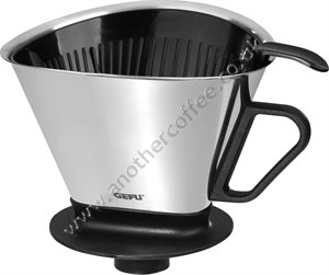 Gefu Angelo Stainless Steel Filter Cone For Making Filter Coffee - 1x4