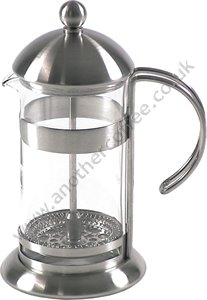 Studio Cafetiere 3 Cup -  Glass/Satin