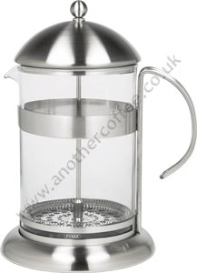 Studio Cafetiere 12 Cup - Glass/Satin