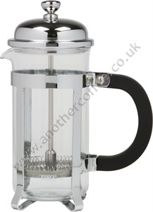 Traditional Cafetiere 3 Cup - Glass/Chrome