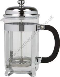 Traditional Cafetiere 6 Cup - Glass/Chrome