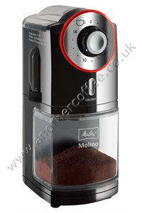 Melitta Molino Burr Coffee Grinder - Black