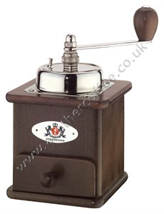Zassenhaus Brasilia Manual Coffee Grinder - Dark