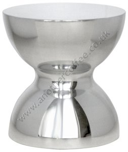 Motta Stainless Steel Tamper - Polished (52mm & 57mm diameter)