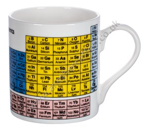 Bone China Mug: Periodic Table