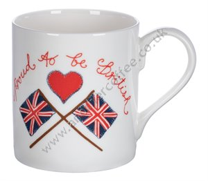 Bone China Mug: Proud To Be British