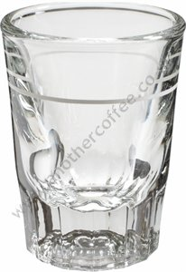 Shot Glass 2oz Lined At 1oz