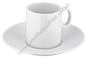 Judge Porcelain Espresso Cup & Saucer - White