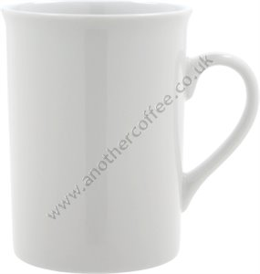 Mug With Straight Sides - White