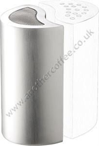 Mix & Match Stainless Steel Chocolate Shaker With Mesh Top - Satin