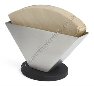 Leopold Vienna Coffee Filter Paper Holder - Stainless Steel
