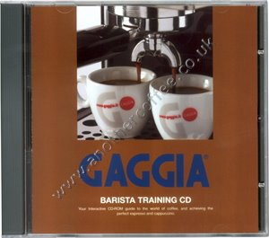 Gaggia Barista Training CD