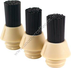 CoffeeTool Spare Stiff Bristle Brush Cartridges (Pack of 3)