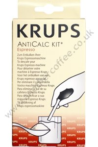 Krups F054 AntiCalc Kit - Coffee Machine Descaler (Pack of 2 sachets)