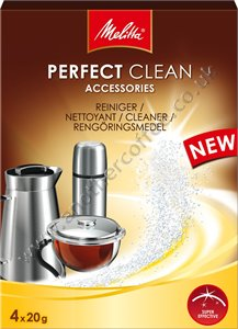 Melitta Perfect Clean Tablets For Accessories - 4 x 20g