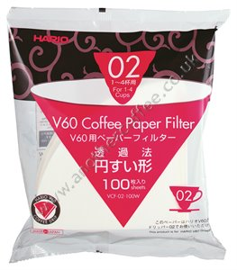 Hario Filter Papers - Size 02 (Pack of 100)