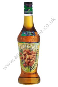 Vedrenne Coffee Flavouring Syrup: Amaretto (700ml bottle)