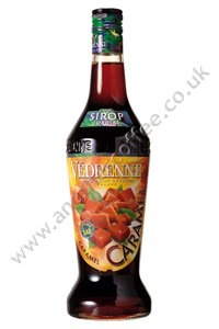 Vedrenne Coffee Flavouring Syrup: Caramel (700ml bottle)