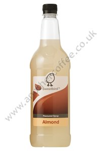 Sweetbird Coffee Flavouring Syrup: Almond (1 litre)