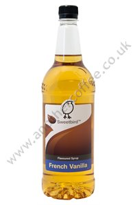 Sweetbird Coffee Flavouring Syrup: French Vanilla (1 litre)