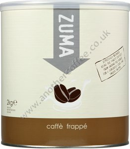 Zuma Frappé Powder: Caffe (2kg drum)