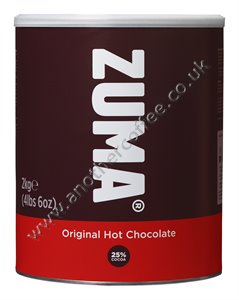 Zuma Hot Chocolate Powder: Original (2kg tin)