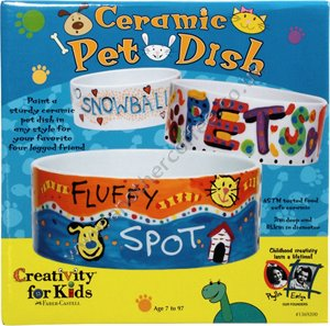 Faber-Castell Paint-Your-Own Ceramic Pet Dish